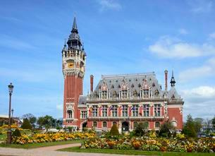 Town Hall, Calais, France, Europeの写真素材 [FYI02341700]