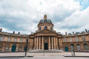 Institut de France, Paris, Ile-de-France, France, Europeの写真素材 [FYI02341734]
