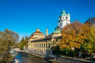 Mullersche Volksbad, public baths, art nouveau indoorの写真素材 [FYI02341763]