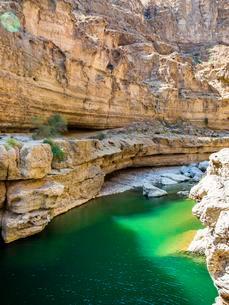 Wadi ash Shab, Oman, Asiaの写真素材 [FYI02341917]
