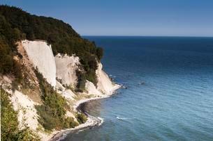 Chalk cliffs, Baltic coast, Jasmund National Park, Rugenの写真素材 [FYI02341968]