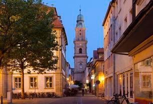 Huguenot church, EinhornstraBe, historic centre Erlangenの写真素材 [FYI02341972]