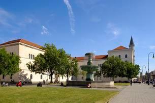 Ludwig Maximilian University, Professor-Huber-Platzの写真素材 [FYI02342029]