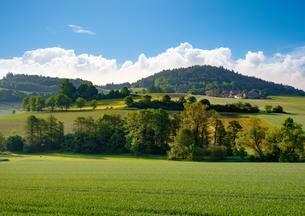 Village Plesten near Neustadt near Coburg, Coburg districtの写真素材 [FYI02342096]