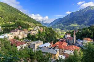 Bad Gastein, Valley Gasteiner Tal, Salzburg, Austria, Europeの写真素材 [FYI02342245]