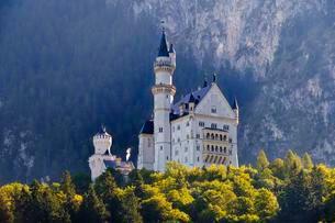 Castle Neuschwanstein, Schwangau, Konigswinkelの写真素材 [FYI02342284]