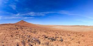 Desert landscape south of the Hoanib dry river, Damaralandの写真素材 [FYI02342298]