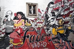 Wall painting, street art, graffiti, Escadinhas de S?oの写真素材 [FYI02342355]