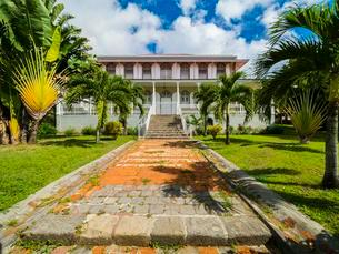 Capital Roseau, Old Mansion, Roseau, Department Guadeloupeの写真素材 [FYI02342470]