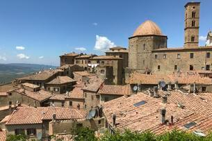 Old Town, Volterra, Tuscany, Italy, Europeの写真素材 [FYI02342520]