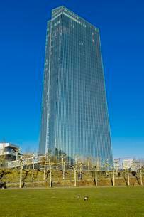 European Central Bank, ECB, architect Coop Himmelblauの写真素材 [FYI02342624]