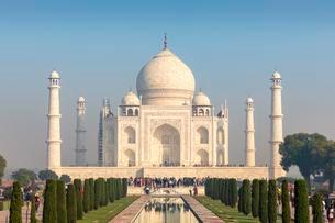 Taj Mahal, Agra, Uttar Pradesh, India, Asiaの写真素材 [FYI02342625]