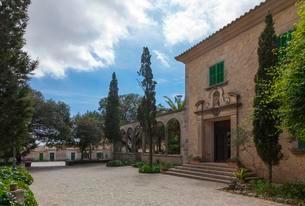 Santuari of Nostra Senyora de Cura sanctuary, Randaの写真素材 [FYI02342733]