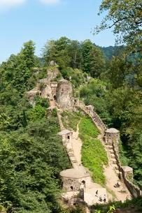 Galeh Rudkhan castle ruins in Fuman, Gilan Province, Iranの写真素材 [FYI02342754]