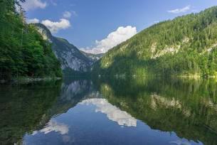 Toplitzsee, Grundelsee, Styria, Austria, Europeの写真素材 [FYI02342768]