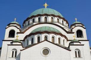 Church of Saint Sava, Belgrade, Serbia, Europeの写真素材 [FYI02342830]