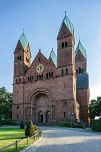 Romanesque Church of the Redeemer, Bad Homburg vor derの写真素材 [FYI02342892]