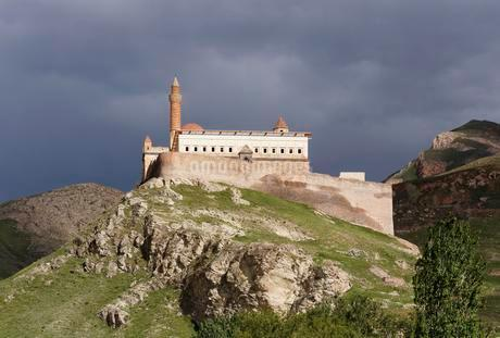 Ishak Pasha Palace, Do?ubeyazit, A?ri province, Easternの写真素材 [FYI02342938]