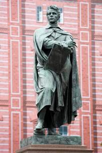 Carl Friedrich Schinkel, Monument, Berlin Mitte, Berlinのイラスト素材 [FYI02342953]