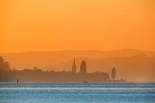 View from the island Reichenau over Lake Constance atの写真素材 [FYI02342980]