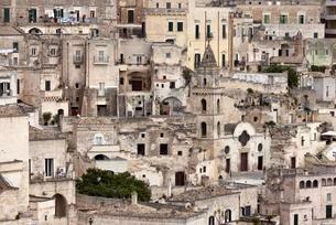 Medieval Old Town, Sassi di Matera, UNESCO Cultural Capitalの写真素材 [FYI02342988]
