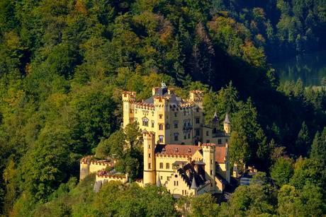 Hohenschwangau Castle, Schwangau, Konigswinkelの写真素材 [FYI02343097]