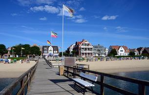 Wyk, North Sea island Fohr, Schleswig-Holstein, Germanyの写真素材 [FYI02343141]