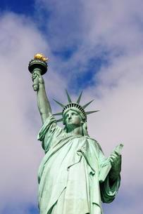 Statue of Liberty, Lady Liberty, Liberty Island, Manhattanの写真素材 [FYI02343262]