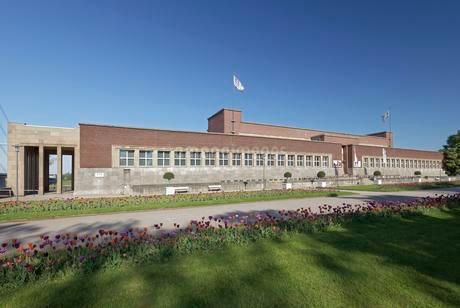 NRW Forum, museum, 1920s building, architect Wilhelm Kreisの写真素材 [FYI02343333]