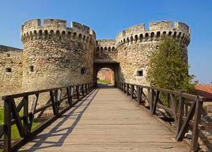 Belgrade Fortress, Belgrade, Serbia, Europeの写真素材 [FYI02343366]
