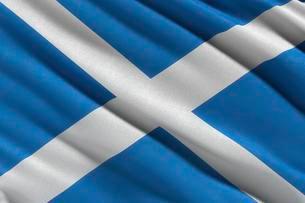 Saltire, flag of Scotlandのイラスト素材 [FYI02343403]