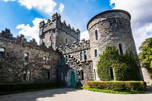 Glenveagh castle, Glenveagh National Park, Donegalの写真素材 [FYI02343628]