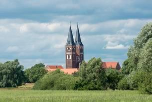 Kloster Jerichow, Collegiate Church, Premonstratensian St.の写真素材 [FYI02343740]