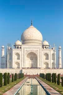 Taj Mahal, Agra, Uttar Pradesh, India, Asiaの写真素材 [FYI02343744]