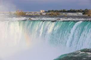 Waterfall Horseshoe Falls, Niagara Falls, Ontario, Canadaの写真素材 [FYI02343780]