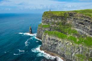 Cliffs of Moher, County Clare, Ireland, United Kingdomの写真素材 [FYI02343783]