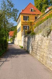 Kornerhaus, historical building, Loschwitz, Dresdenの写真素材 [FYI02343816]