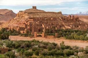 Kasbah Ait-Ben-Haddou, province of Ouarzazateの写真素材 [FYI02343878]