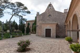 Santuari of Nostra Senyora de Cura sanctuary, Randaの写真素材 [FYI02343900]