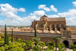 View on Cathedral Mosque of Cordoba, Andalusia, Spainの写真素材 [FYI02343914]