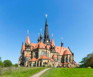 Garrison Church of Saint Martin, Dresden, Saxony, Germanyの写真素材 [FYI02343927]