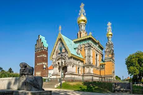 Russian Chapel of St. Mary Magdalene by Leonti Nikolayevichの写真素材 [FYI02344043]