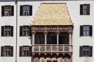 Golden Roof, Innsbruck, Tyrol, Austria, Europeの写真素材 [FYI02344053]