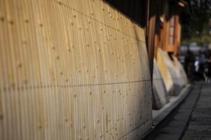 Bamboo mat fenceの写真素材 [FYI02344269]