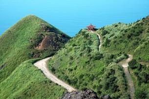 Wuer Chahu Shan; Teapot Mountainの写真素材 [FYI02344387]