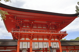 Shimogamo Shrine Japanの写真素材 [FYI02344473]