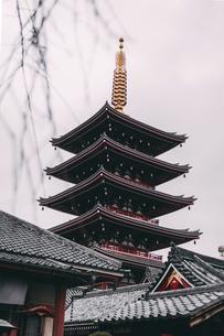 senso-Ji templeの写真素材 [FYI02344832]