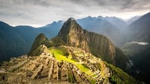 Machu Picchu;Peru; South America;の写真素材 [FYI02344904]