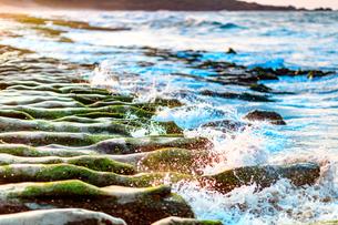LaoMei Green Reef;Taiwanの写真素材 [FYI02344966]