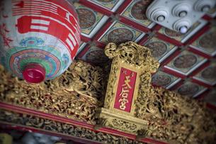Taipei TianHou Templeの写真素材 [FYI02345088]